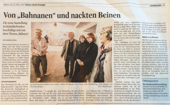 """Ausstellung""""Bahnen"""""""