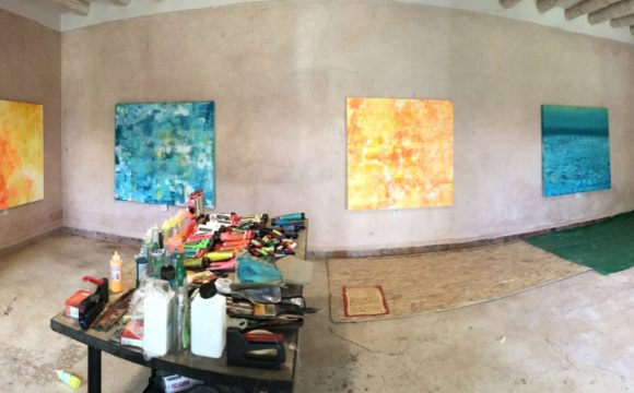 Artist-in-residence /  Britt-in-Marrakech (10/2019)